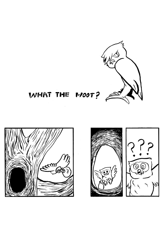 What the Hoot? Page: 1
