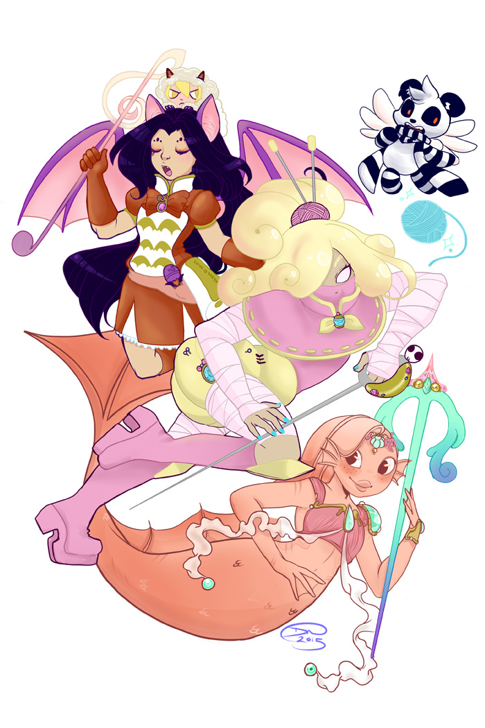 Run Lil Jared: Magical Girls By Divi