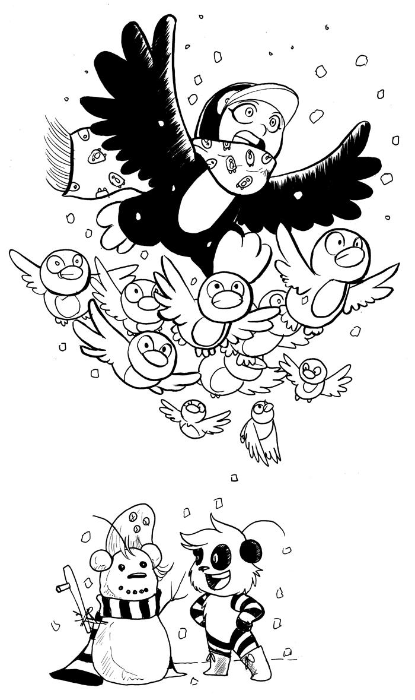 Winter break doodle part 3